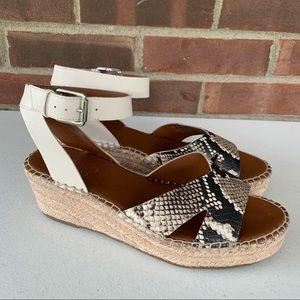 Franco Sarto Pellia2 espadrille platform sandals